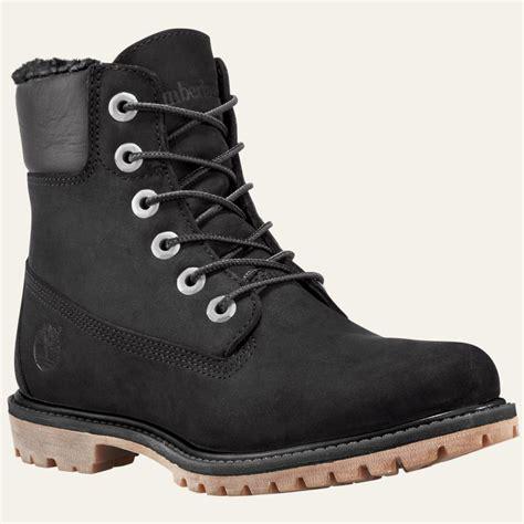 s 6 inch premium waterproof boots timberland s 6 inch premium fleece lined waterproof