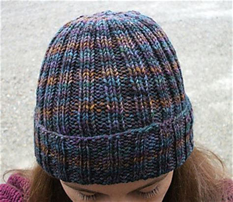 how to knit ribbing on circular needles ravelry ribbed watchman s hat pattern by channah koppel