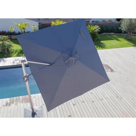 Parasol Déporté Orientable Et Inclinable by Parasol D 233 Port 233 3x3 M Orientable Et Rotatif En Aluminium