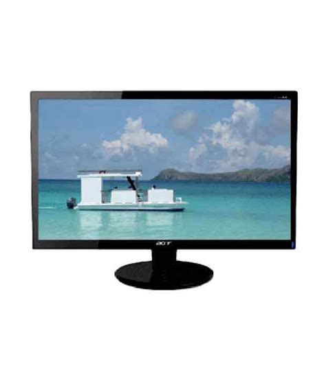 Monitor Acer Lcd 15 6 P166hql acer p166hql 15 6 inch led monitor buy acer p166hql 15 6 inch led monitor at low price