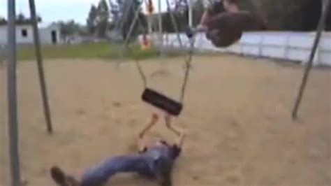 swing set fail swing set fail from failblog