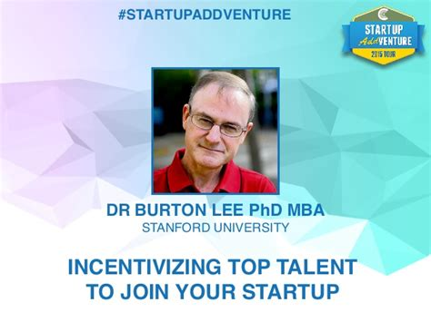 From Mba To Phd by Dr Burton Phd Mba Incentivizing Top Talent To Join