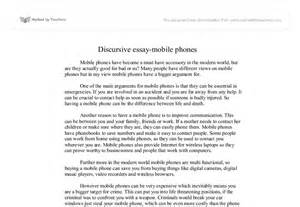 Essay About Cell Phone by Mobile Phones Gcse Marked By Teachers