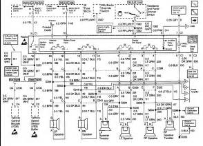 2003 chevy tahoe stereo wiring diagram autos post