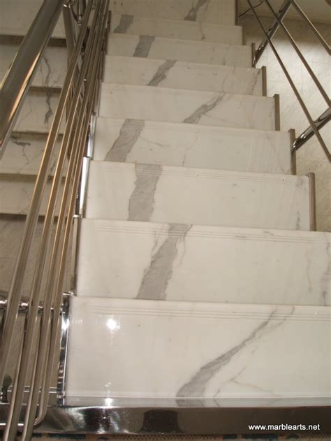 Marble Arts   Limestone and Marble Staircase