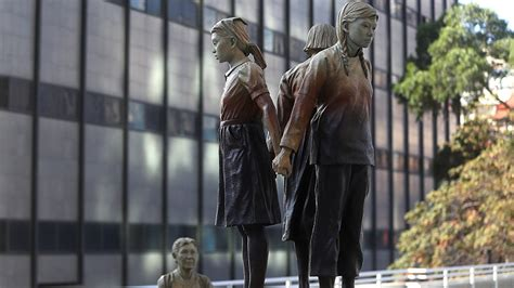 comfort women statue sisters no more japanese city drops san francisco over