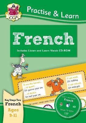 libro new curriculum practise new curriculum practise learn french for ages 9 11 with vocab cd rom cgp books