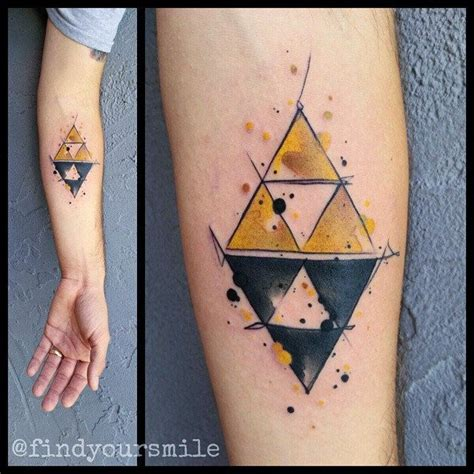 zelda triforce tattoo 353 best tatuajes images on tatoos and