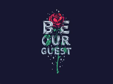be our guest by robbie thiessen dribbble