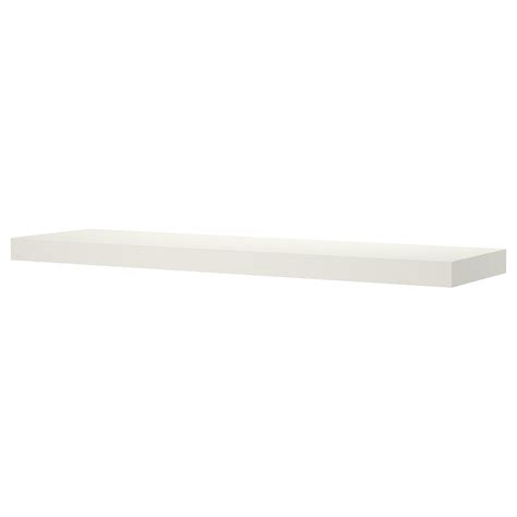 Lack Wall Shelf White 110x26 Cm Ikea White Shelves