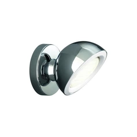 len eglo len single light spot light in polished chrome