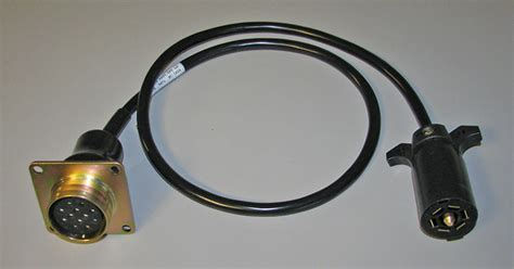 trailer adapter cable trailer on a