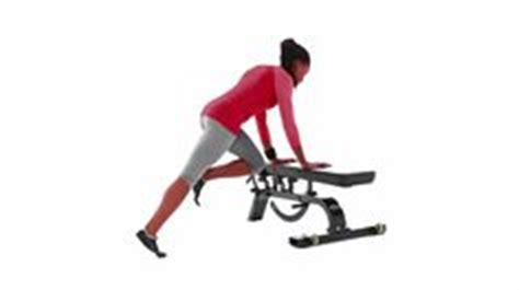 mountain climber with hands on bench strength exercise and health on pinterest