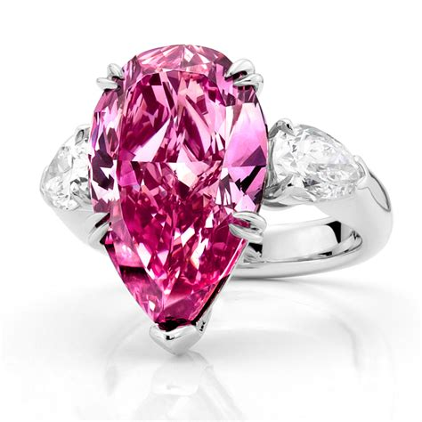 wedding rings with pink diamonds pink rings awesome pink wedding