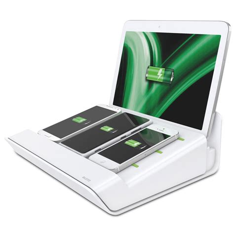 device charging station leitz xl mobile multi device charging station white ebay