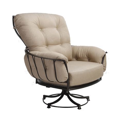 Swivel Chair Lounge Design Ideas Swivel Rocker Lounge Chair Fishbecks Patio Furniture Store Pasadena