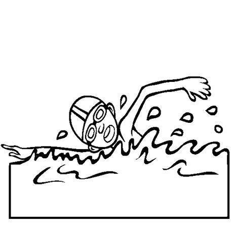 imagenes de niños nadando para colorear nadar para dibujar imagui