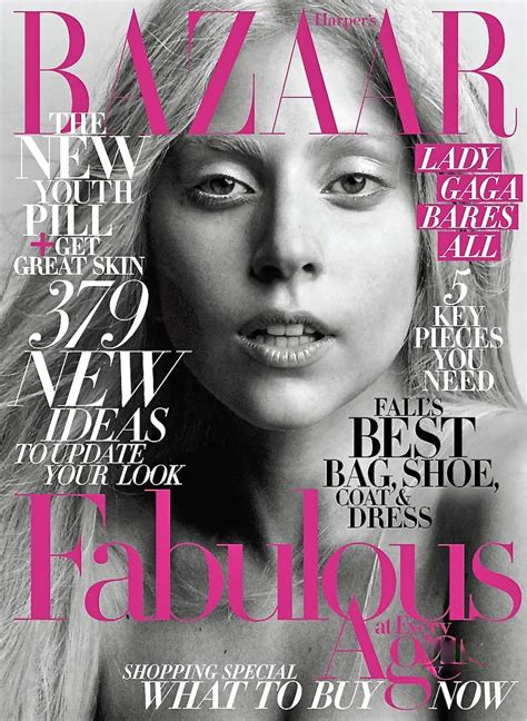 Magazine Makeover by Gaga For S Bazaar Us October 2011 Art8amby S