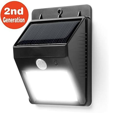 Outdoor Wireless Security Lights Battery Powered Foryee Tm 8 Bright Led Wireless Waterproof Solar Powered Motion Sensor Light Outdoor Solar