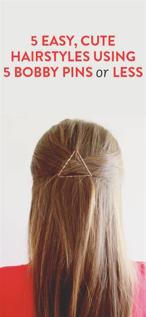 cute hairstyles using bobby pins 17 best images about lookbook hair on pinterest cute