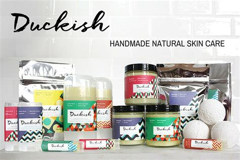 Handmade Organic Skin Care - duckish handmade skin care giveaway my in