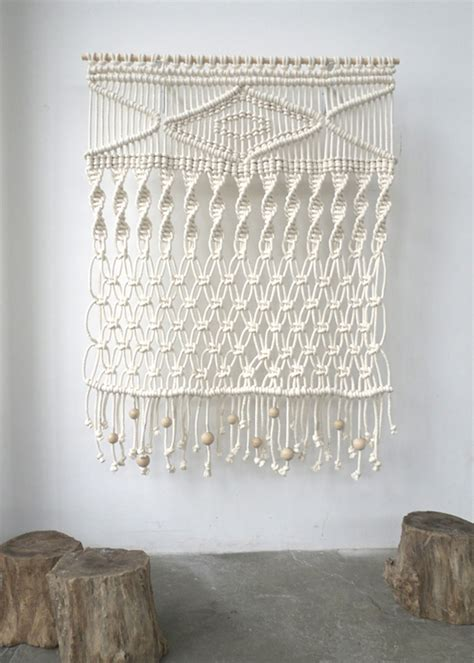 How To Make A Macrame Wall Hanging - design trend macram 233 glitter inc glitter inc