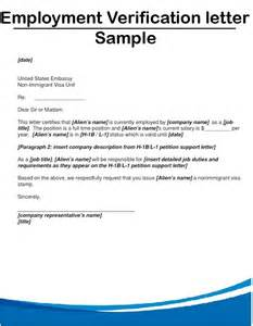 Certification Letter From Previous Employer Sample Employment Verification Letter Custom College Papers
