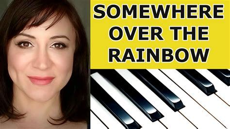 tutorial piano over the rainbow somewhere over the rainbow piano tutorial sheet music