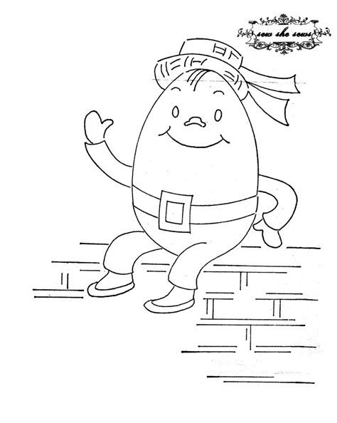 humpty dumpty coloring pages az coloring pages