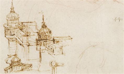 Leonardo Collection 43 Architectural inside leonardo s drawings flying machines and castles