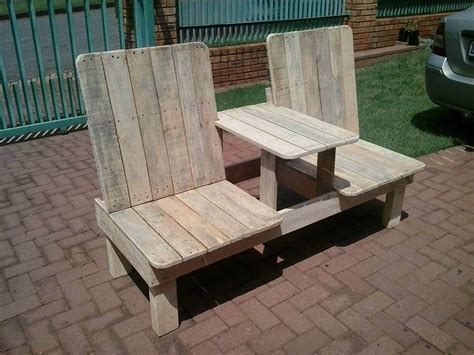 pallet patio chair recycled pallet chair bench 99 pallets