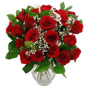 Glass Swan Vase Promise Two Dozen Beautiful Red Roses Flower Delivery