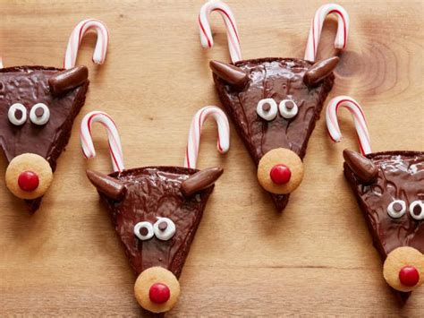 christmas deer phillips reindeer brownies recipe food network kitchen food network