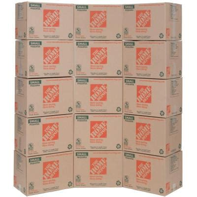 the home depot 16 in x 12 in x 12 in small moving box - Home Depot Small Moving Box
