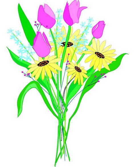 bouquet clipart clip of flower bouquets free flower bouquets clipart
