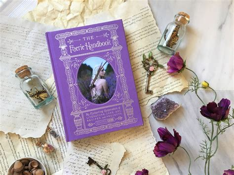 the faerie handbook an enchanting compendium of literature lore recipes and projects books book review the faerie handbook sweet violet