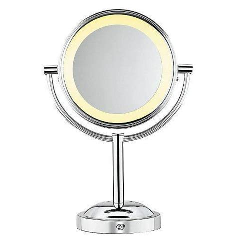 makeup mirror conair sided battery operated lighted makeup mirror