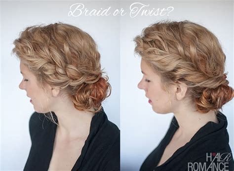 curly hairstyles tutorial curly bun hairstyle tutorial two ways hair romance
