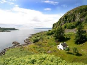 Escape From The Bedroom 3 bedroom secluded cottage in scotland argyll oban west