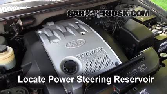 Kia Sedona Power Steering Power Steering Leak Fix 2002 2005 Kia Sedona 2003 Kia