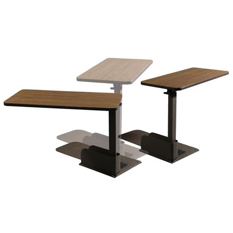 lift chair side table maxiaids deluxe seat lift chair overbed left side table