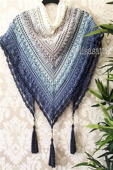 crochet or knit 17 best ideas about shawl patterns on shawl