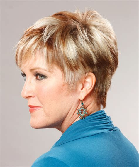 short hair tapered in back short tapered womens back view of tapered haircut short