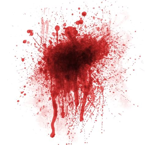 what is the real color of blood the gallery for gt real blood splatter png