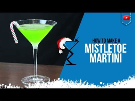martini mistletoe christmas cocktails mistletoe martini how to make
