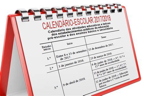 Calendario Lectivo 2017 The Digital Escolas Ano Lectivo 2017 2018 O