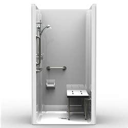 ada shower stall best bath systems video 5piece ada transfer shower one piece 42x38 smooth wall look