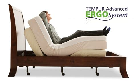 tempur ergo adjustable gardners mattress more
