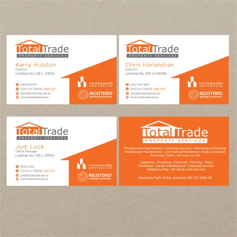 Maintenance Card Template by Garden Maintenance Business Cards Choice Image Business