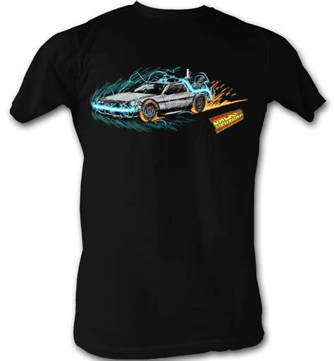Tees Kaos T Shirt Future back to the future t shirt time painting black